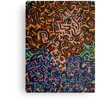 Abstract Criminal No.1 Canvas Print