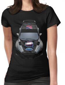 Ken Block Ford Fiesta (2016) RX43 Womens Fitted T-Shirt