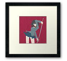 Anri Sonohara (Simplistic) Framed Print