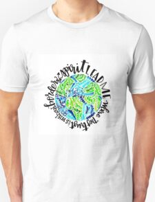 Without Borders-Earth Unisex T-Shirt