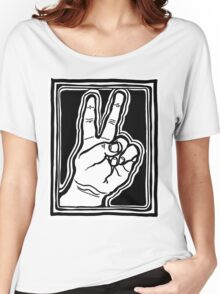 Peace Brother, Sister Women's Relaxed Fit T-Shirt