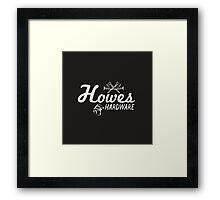 Howe's Hardware Framed Print