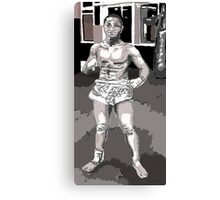 The Young Fighter Canvas Print