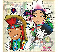 NDN love song Photographic Print