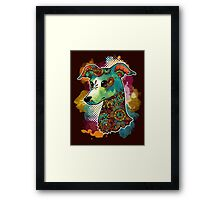 Bohemian Italian Greyhound Framed Print