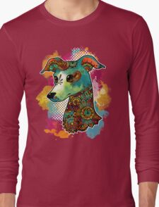 Bohemian Italian Greyhound Long Sleeve T-Shirt