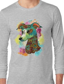 Bohemian Italian Greyhound Long Sleeve T-Shirt