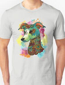 Bohemian Italian Greyhound Unisex T-Shirt