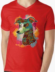 Bohemian Italian Greyhound Mens V-Neck T-Shirt