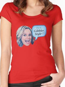 Fuller House - Do it Gibbler Style Women's Fitted Scoop T-Shirt