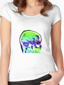 BRIGHT SIDE Women's Fitted Scoop T-Shirt