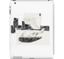 Everything Comes Around In The End iPad Case/Skin