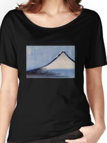 'Mount Fuji 2' by Katsushika Hokusai (Reproduction) Women's Relaxed Fit T-Shirt