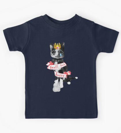 'Small but sassy' cat collage Kids Tee