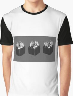 Seaweed Cubes Graphic T-Shirt