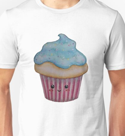Smiley Cupcake  Unisex T-Shirt