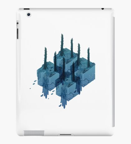 Forest Cubes iPad Case/Skin