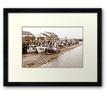 The Fishing Fleet Framed Print