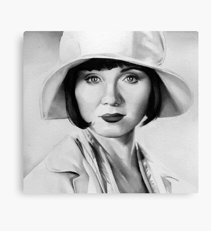 miss fisher Canvas Print