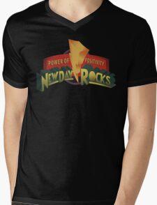New Day Power Rocks WWE Mens V-Neck T-Shirt