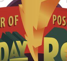New Day Power Rocks WWE Sticker