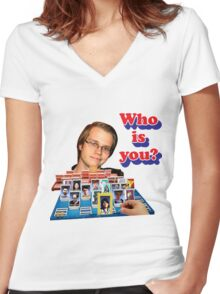 Who is you? Armada SSBM Guess who Women's Fitted V-Neck T-Shirt