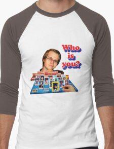 Who is you? Armada SSBM Guess who Men's Baseball ¾ T-Shirt