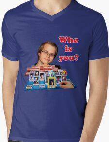 Who is you? Armada SSBM Guess who Mens V-Neck T-Shirt