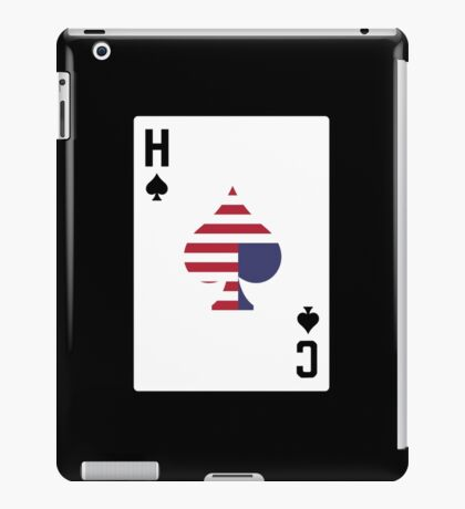 Ace of Spades iPad Case/Skin