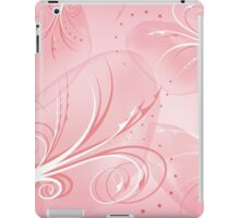 Abstract pink background iPad Case/Skin