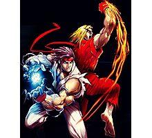 Ken and Ryu  Photographic Print