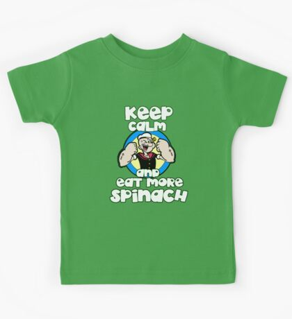 Eat More Spinach! Kids Tee