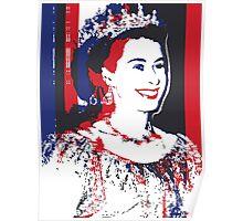 Young Queen Elizabeth II Poster