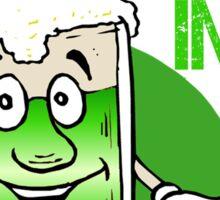 Green Beer Innuendo St Patrick's Day Sticker