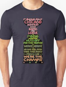 Crawford 2013 Stanley Cup Parade Speech - Color Outline T-Shirt