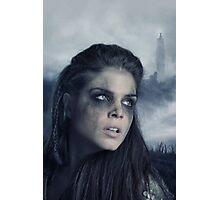 The 100 - Octavia Blake - Season 3 Poster Photographic Print