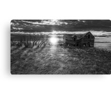 Abandoned BW Canvas Print
