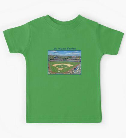 Los Angeles Baseball Kids Tee