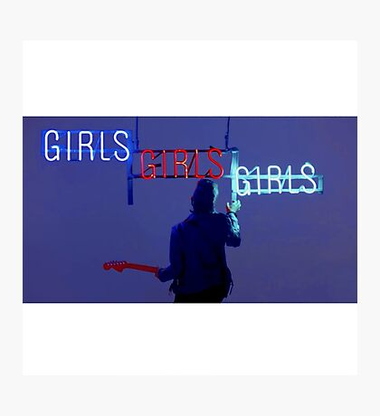 Girls, girls, girls  Photographic Print