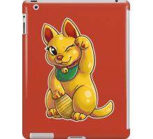 Golden Neko iPad Case/Skin