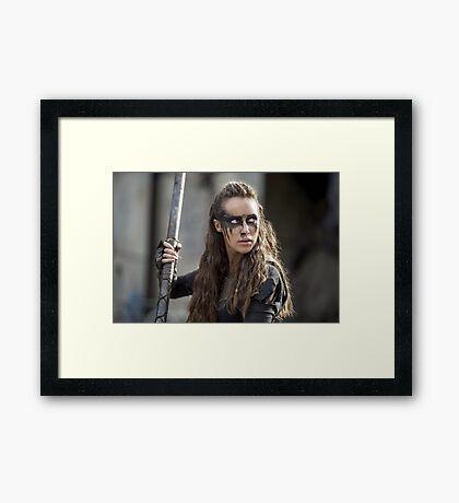 Lexa - The 100 - Season 3 Framed Print