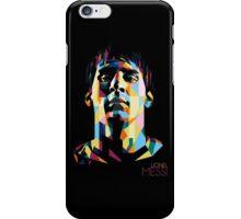 Lionel Messi | Polygonal Fan-Art iPhone Case/Skin
