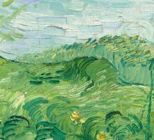 Vincent van Gogh's 'Green Wheat Fields, Auvers' Sticker