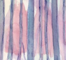 Pastel Abstract - Watercolor Painting Sticker
