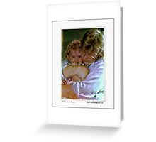 Alex and Iona Greeting Card