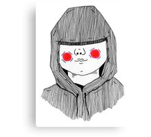 Rosey Red Cheeks Canvas Print