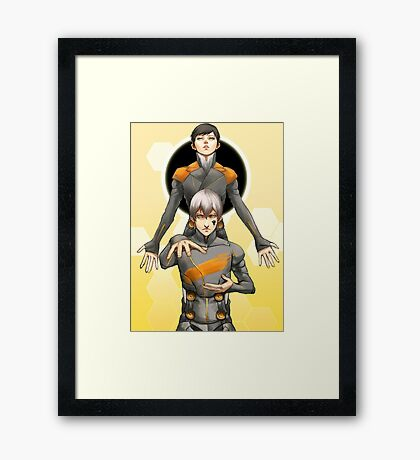 Digital Devil Saga Framed Print