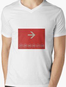Six Zeros Mens V-Neck T-Shirt