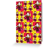 Lively Lizzie Blocks  Greeting Card