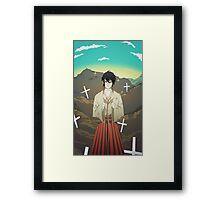 Sayonara Zetsubou Sensei Framed Print
